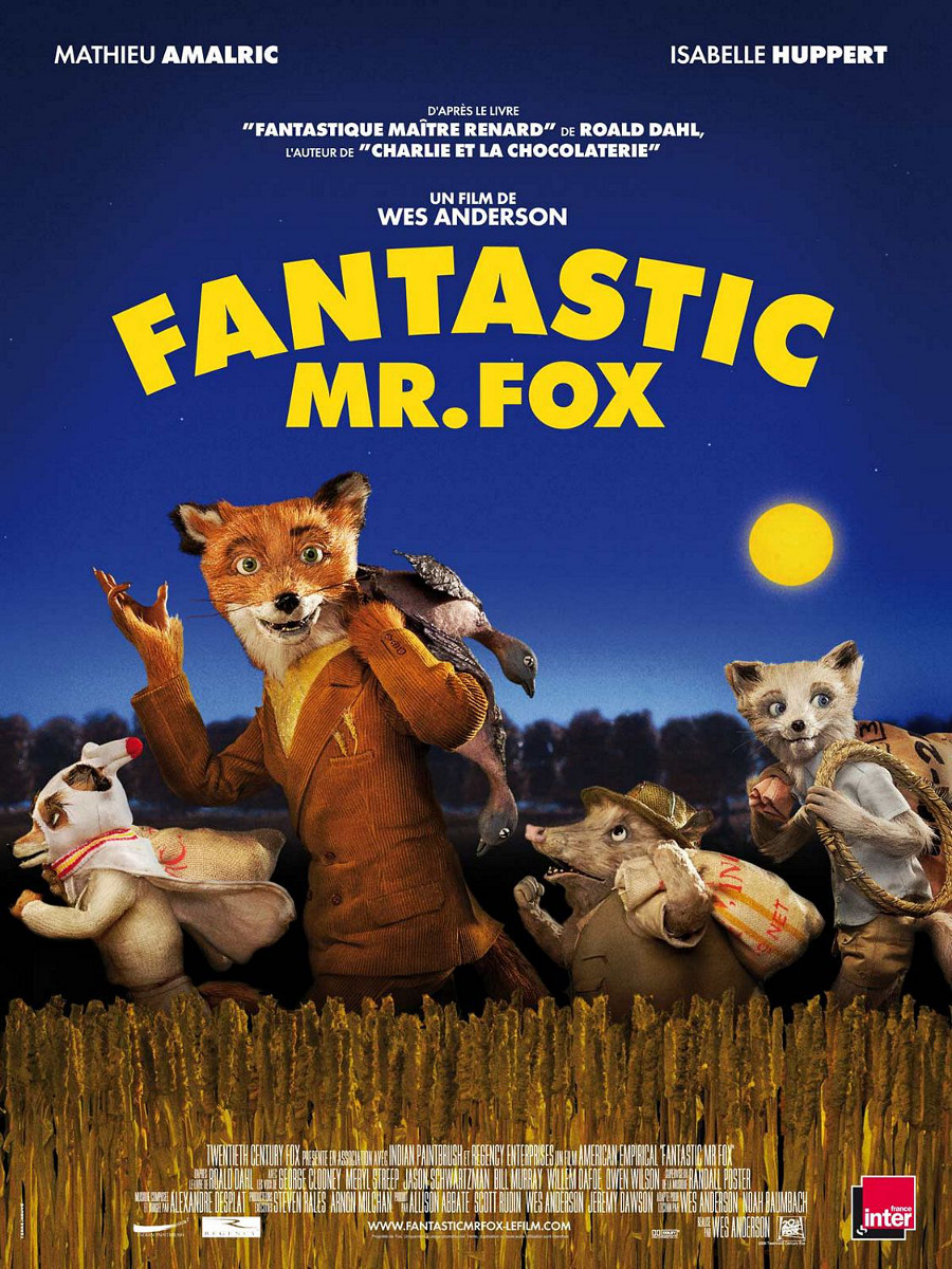 Fantastic Mr. Fox poster e locandina