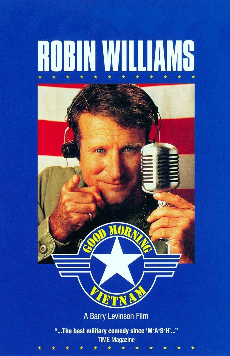 Good Morning, Vietnam poster e locandina