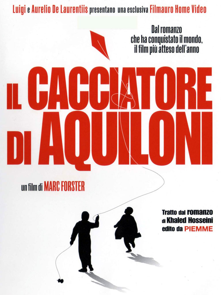 Il cacciatore di aquiloni (poster)