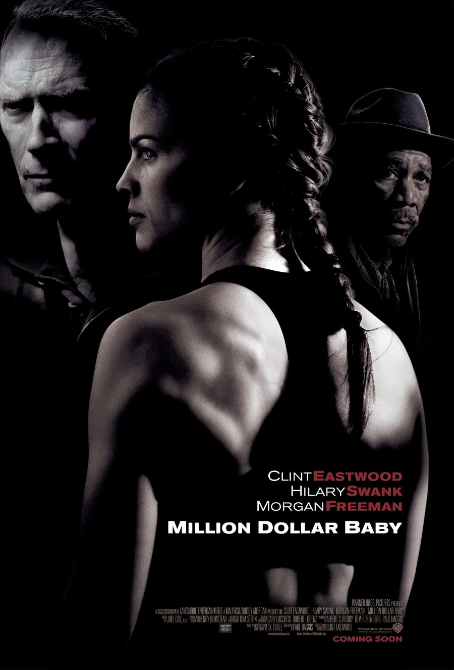 Million Dollar Baby poster e locandina