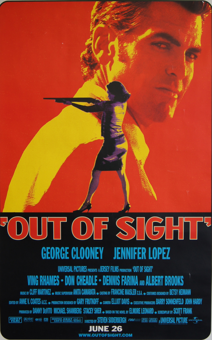 Out of Sight poster e locandina