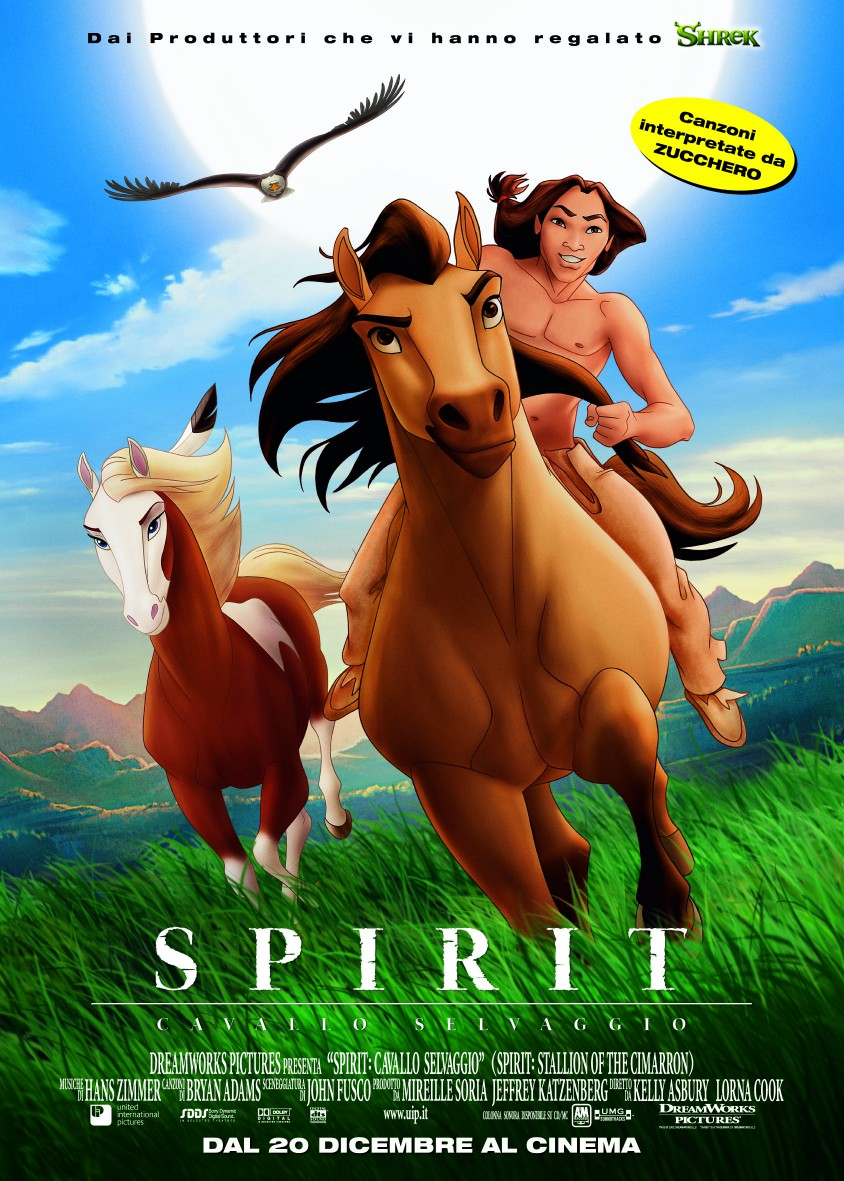 spesso Frasi del film Spirit - Cavallo selvaggio DP56