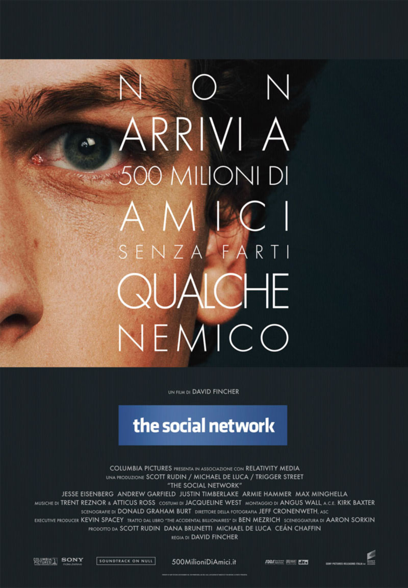 The Social Network poster e locandina