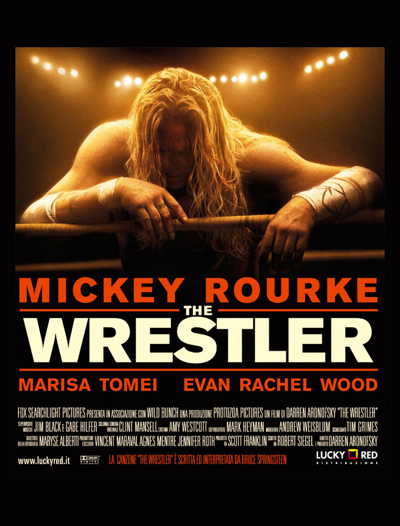 The Wrestler poster e locandina