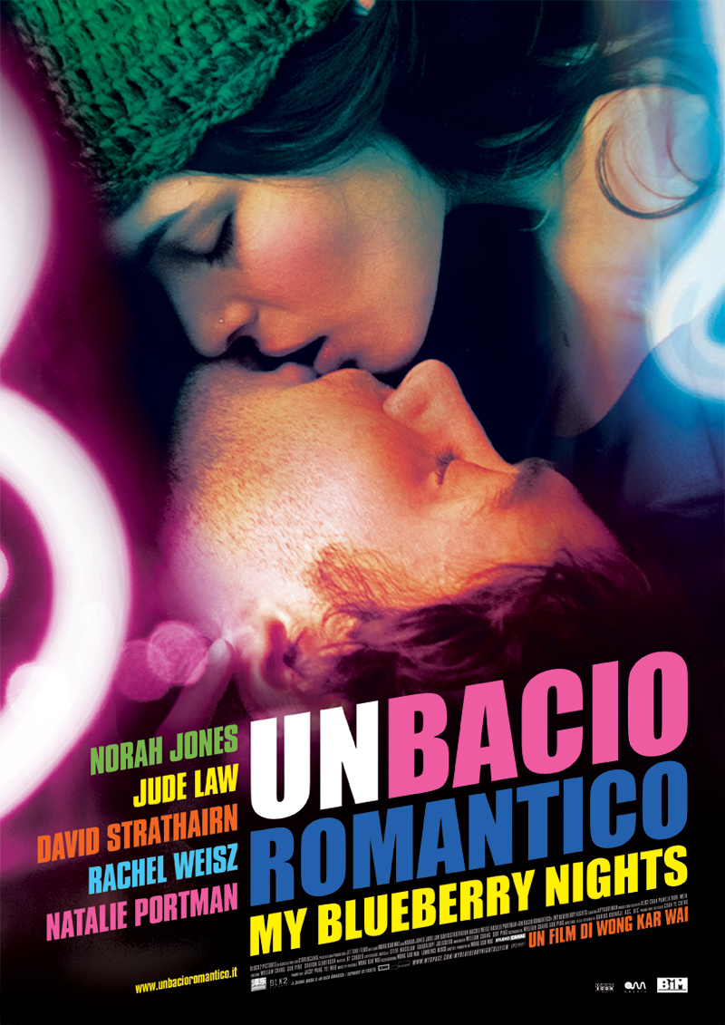Un bacio romantico - My Blueberry Nights poster e locandina