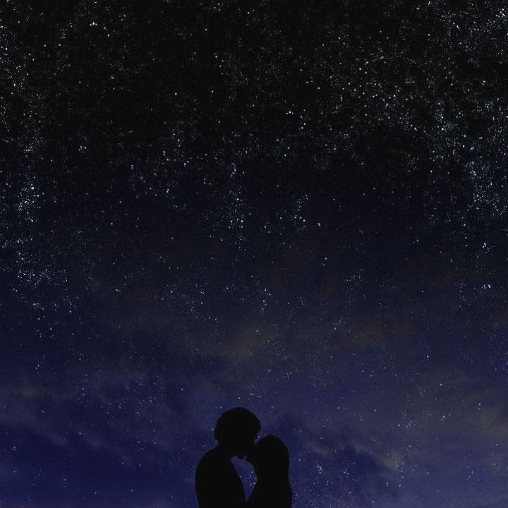 baci sotto le stelle