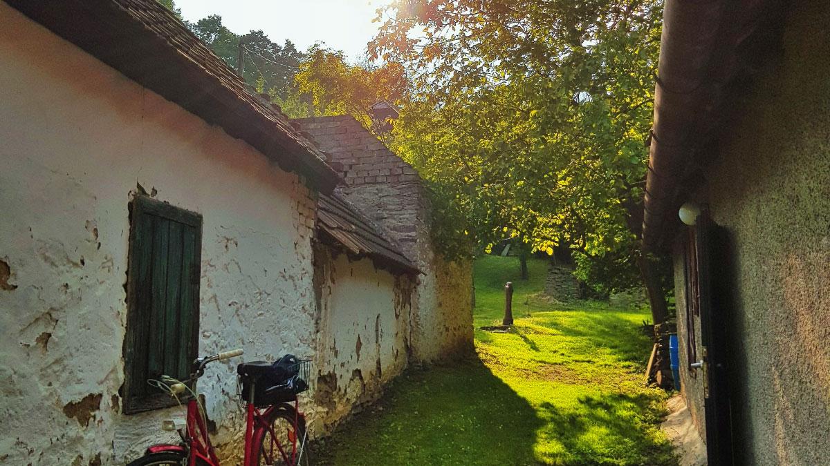 bici in campagna