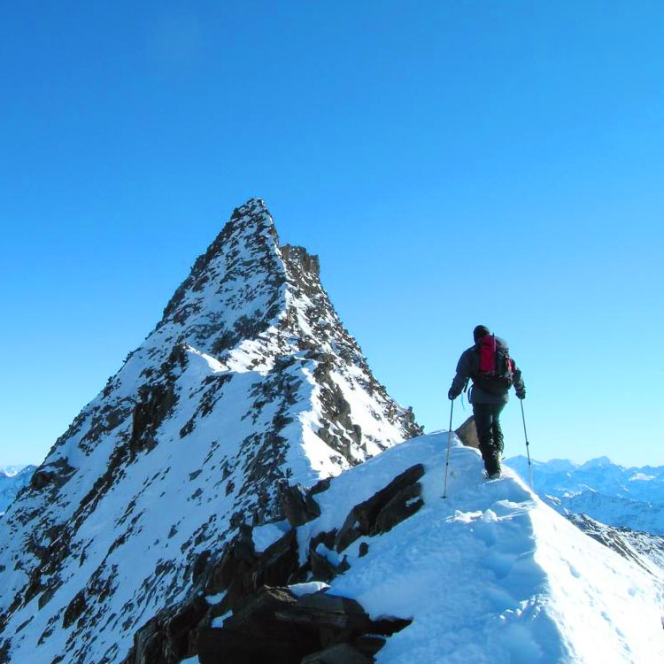 cime della montagna
