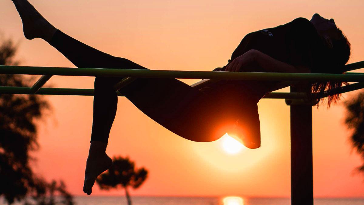 esercizi al tramonto
