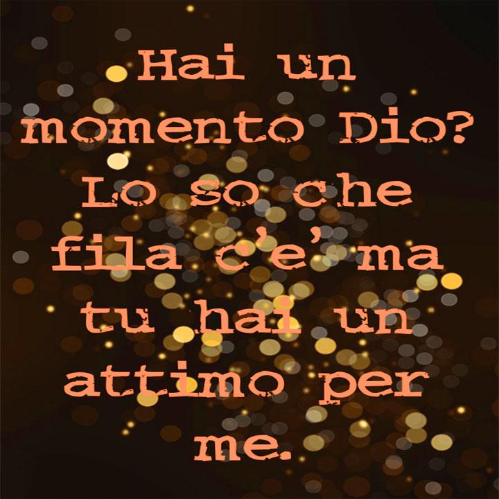 Luciano Ligabue Hai Un Momento Dio Lo So Che Fila C E Ma Tu