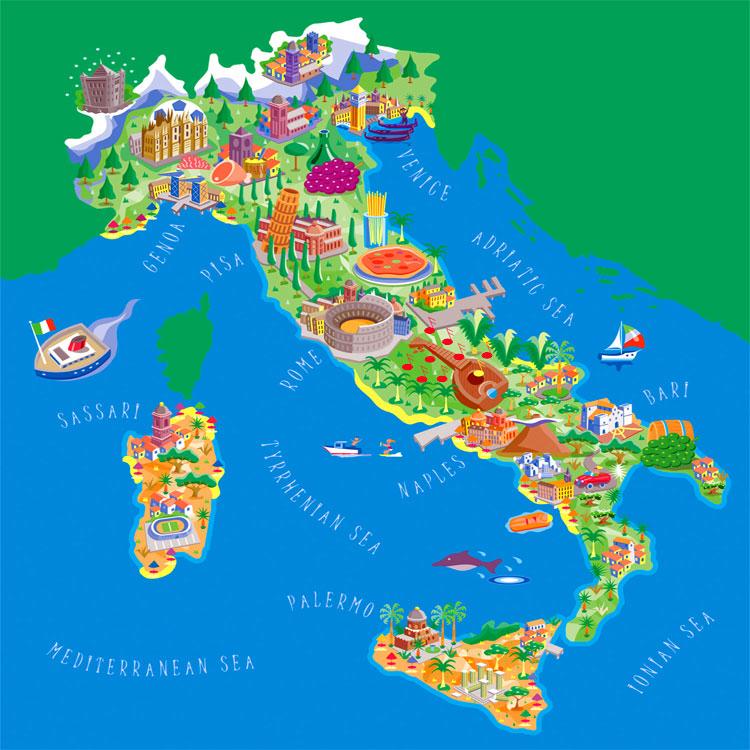 Frasi sull 39 italia for Siti architetti famosi
