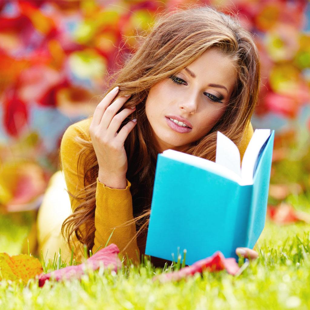 leggere nella natura