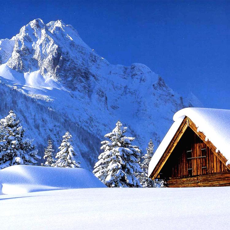 Frasi sulla neve for Immagini di case bellissime