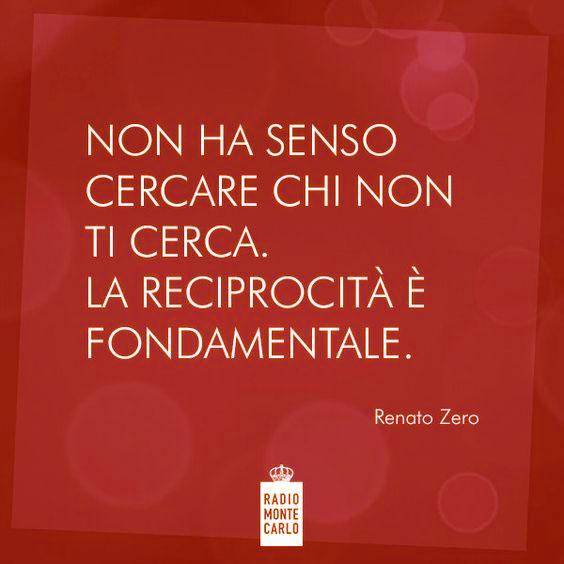 Renato Zero Non Ha Senso Cercare Chi Non Ti Cerca La