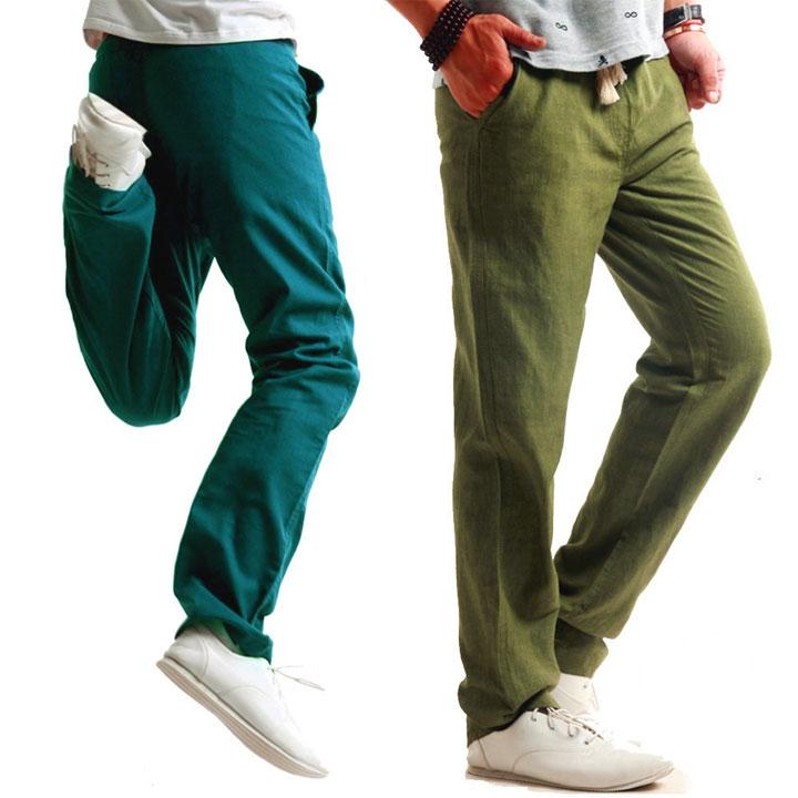 Pantaloni da bagno per per ragazzo//giovani Verde Con Nero//Motivo Rosso