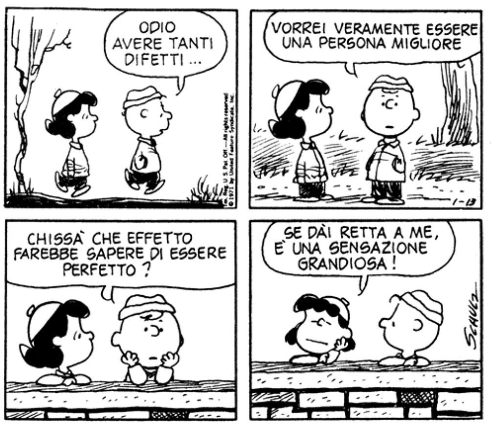 Charles M Schulz Charlie Brown Odio Avere Tanti Difetti