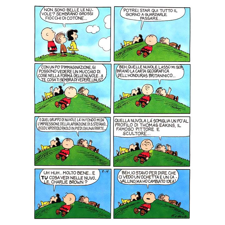 peanuts nuvole