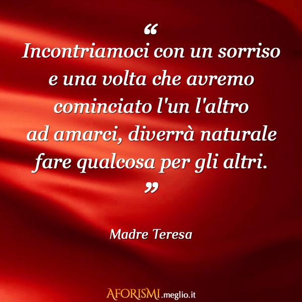 Auguri Matrimonio Madre Teresa : Madre teresa di calcutta incontriamoci con un sorriso e
