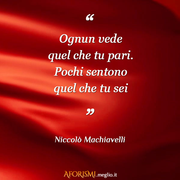 Frasi Di Niccolo Machiavelli