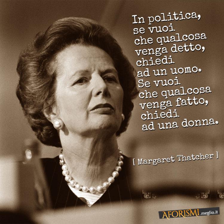 Frasi Di Margaret Thatcher