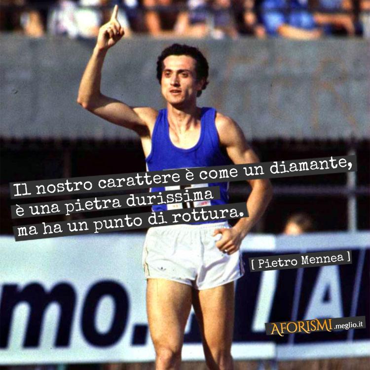Frasi Sui Sogni Nello Sport.Frasi Di Pietro Mennea