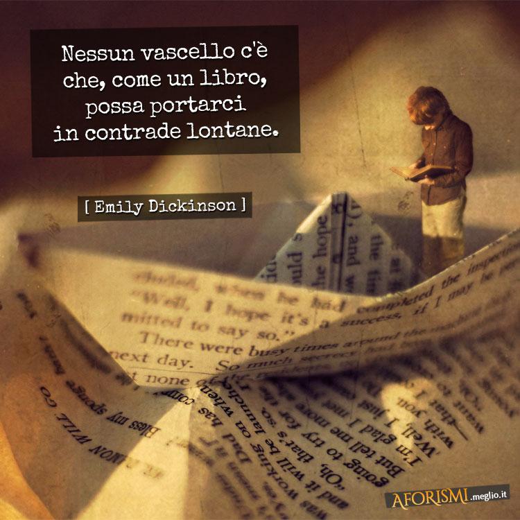 Emily Dickinson Nessun Vascello C E Che Come Un Libro Possa