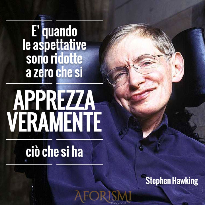 Frase di Stephen Hawking