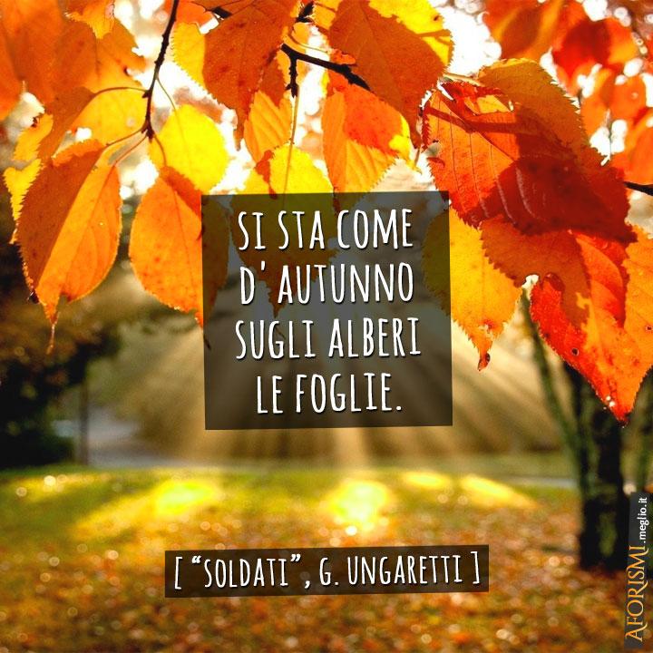 Soldati Poesia Di Giuseppe Ungaretti