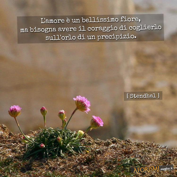 Stendhal l 39 amore un bellissimo fiore ma bisogna avere il coraggio di coglierlo - Il budda nello specchio pdf gratis ...