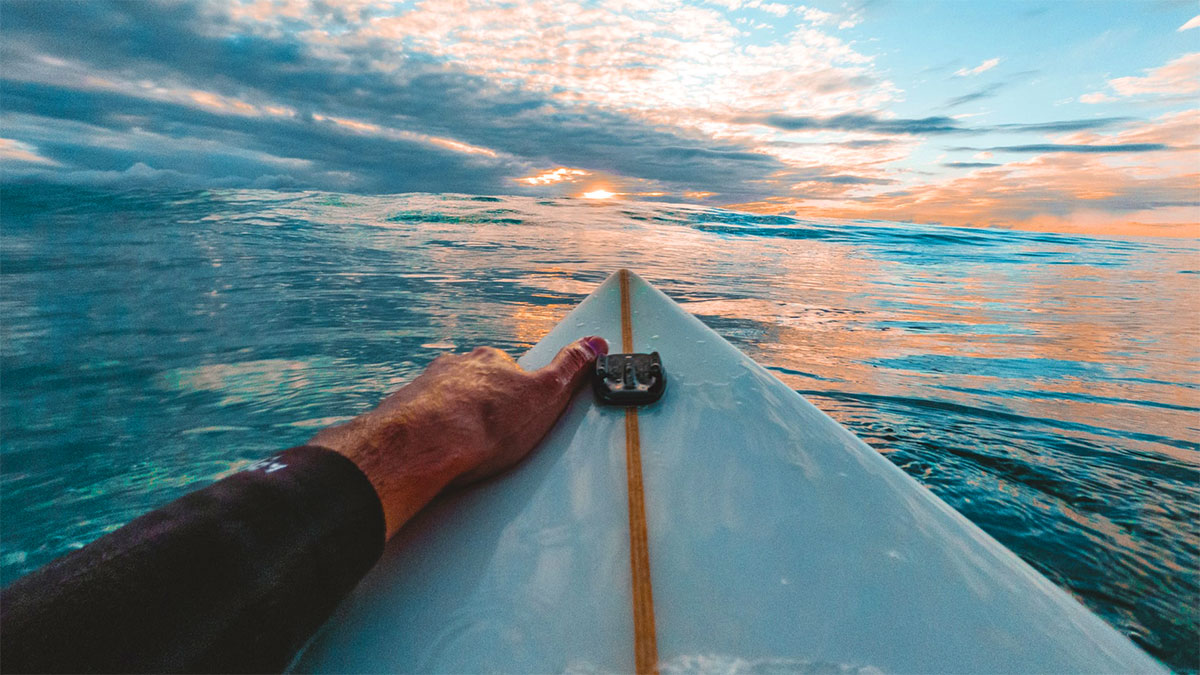 surf mare orizzonte